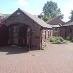 The exterior of the Smithy as it is now