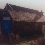 The Smithy, after it had fallen into disrepair