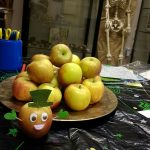 Apple Day 2017 - lots of apple-themed autumn fun, and visitors brought their surplus apples and windfalls, which were then taken to be turned into cider and apple juice for future events