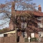 Almond's, Church Lane, Eccleston, taken in Autumn 1970