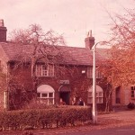 The old Eccleston Post Office, taken in Autumn 1958