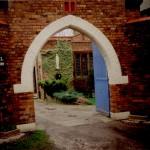 The entrance to the Carmelite Monastery