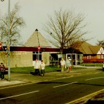 Eccleston Library and the doctors', now a day nursery