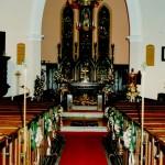 The interior of Christ Church Eccleston