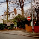 The entrance to Taylor Park and Parkside Residential Home