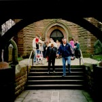 The view through the lychgate
