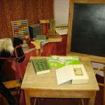 "A recreation of a child's nursery from our ""Jumpers for Goalposts"" exhibition in 2008 which showed how people's experience of childhood has changed over the centuries."