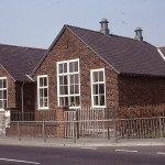 Eccleston Mere Primary, formerly Chapel Lane School, taken in Spring 1974